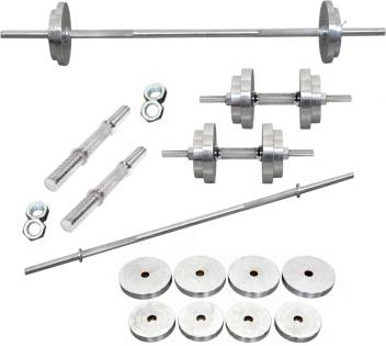 """10KG x 1 Olympic Weight Plates Weights Plate for Dumbbell Tricep Barbell Bar 2/"""""""