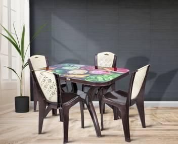 Smilemindia Plastic 4 Seater Dining Set Price In India Buy Smilemindia Plastic 4 Seater Dining Set Online At Flipkart Com