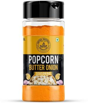 Artha Natural Butter Onion Popcorn Seasoning Shaker Jar Perfect For Pop Corn 200gm Tasteful Butter Onion Seasoning Price In India Buy Artha Natural Butter Onion Popcorn Seasoning Shaker Jar Perfect For