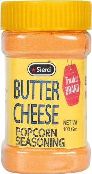 Siera Butter Salt Cheese Popcorn Seasoning Powder Perfect For Pop Corn Making Cheese Sauce For Nachos Sprinkling On French Fries Price In India Buy Siera Butter Salt Cheese Popcorn Seasoning Powder Perfect