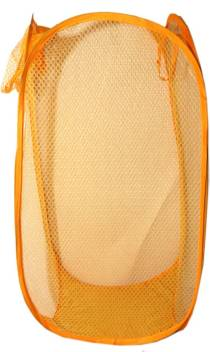 Kuber Industries 20 L Orange Laundry Bag