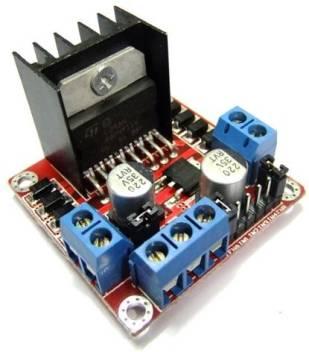 Robodo L298n Dc Driver Controller Stepper Motor Smart Car Board Module  Arduino Pic, Dual H Bridge Dc Motor Driver