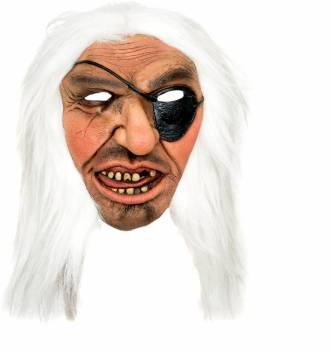 Tootpado Realistic Latex Rubber Adult Size Pirate 1a213 Horror Halloween Ghost Scary Full Face Cosplay Costumes Supplies Creepy Zombie Party Mask Price In India Buy Tootpado Realistic Latex Rubber Adult