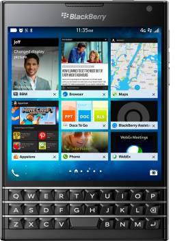 Blackberry Passport (Black, 32 GB)