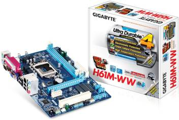 Gigabyte GA-H61M-WW with Parallel Port/Serial Port/PCI Slot Motherboard