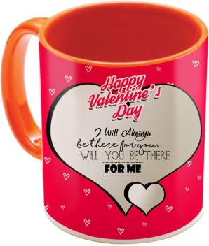 Sky Trends Valentine Gift For Girlfriend Love Printed I Love U Forever Perfect For Her Him Wife Fiance Anniversary And Birthday Stgd185 Ceramic Mug Price In India Buy Sky Trends Valentine