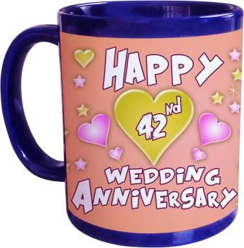 Sajawathomes 42nd Wedding Anniversary Coffee Ceramic Mug Price In