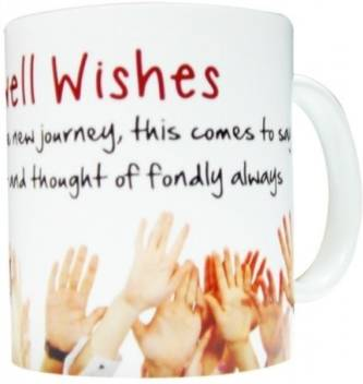 Gift for Farewell Wishes Ceramic Mug