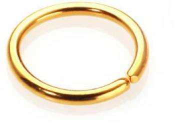 Vinayak Sober Smart Gold Nose Ring Price In India Buy Vinayak