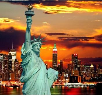 STATUE OF LIBERTY POSTER New York Landmark RARE HOT NEW