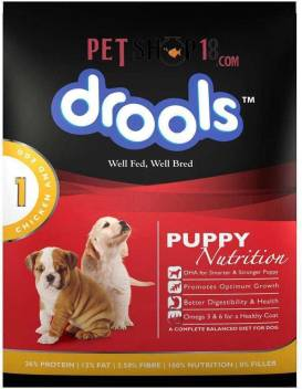 Drools Puppy Chicken And Egg Egg Chicken 1 2 Kg Dry New Born Dog Food Price In India Buy Drools Puppy Chicken And Egg Egg Chicken 1 2 Kg Dry New Born Dog