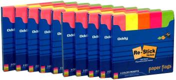 Flipkart.com | Oddy Re-Stick Paper Notes 250 Sheets Post-it Notes, 5 Colors  -
