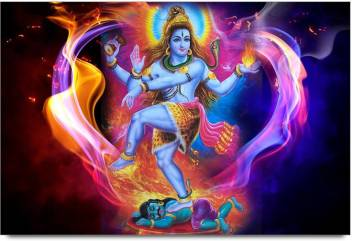 Amy Lord Shiva Dancing Abstract Art 3d Poster Nature Nature
