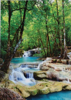 Waterfalls Those Flipping Pictures-UNFRAMED Parent