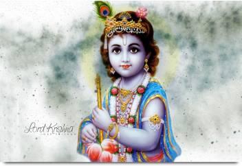 Baby Krishna Paper Print Religious Posters In India Buy Art Film Design Movie Music Nature And Educational Paintings Wallpapers At Flipkart Com