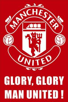 Euerkadesigns Manchester United Logo Poster Fine Art Print Sports Posters In India Buy Art Film Design Movie Music Nature And Educational Paintings Wallpapers At Flipkart Com