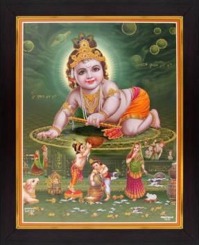 lord krishna baby krishna bal gopal poster avc9088d1 small original imaefu2vrtzz6g5p