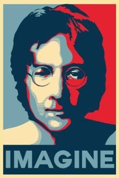 John Lennon Imagine Art Poster Paper Print Personalities Posters In India Buy Art Film Design Movie Music Nature And Educational Paintings Wallpapers At Flipkart Com