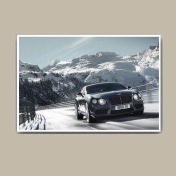 Giclee Print Bentley Poster on Polyester Canvas
