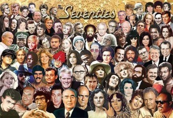 The Seventies Headline Newsmakers Challenge Puzzle 500 Peices