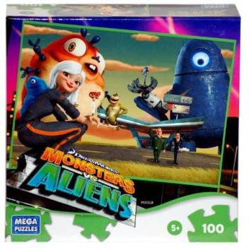 Dreamworks Monsters Vs Aliens Monsters Vs Aliens Monster Pit Stop Puzzle Monsters Vs Aliens Monster Pit Stop Puzzle Buy Insectosaurus Susan Murphy The Missing Link General Warren R Monger President