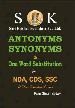 Antonym, Synonyms And One Word Substitution For NDA, CDS