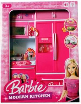Modern Kitchen Set Barbie Toys