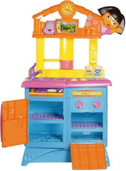 Fisher Price Dora The Explorer Folding Kitchen Dora The Explorer Folding Kitchen Buy Dora Toys In India Shop For Fisher Price Products In India Toys For 3 6 Years Kids Flipkart Com