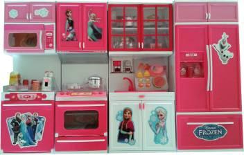 Frozen Big Size Modern Kitchen Set With 4 Compartments Musical And Lights Big Size Modern Kitchen Set With 4 Compartments Musical And Lights Buy Kitchen Set Toys In India Shop