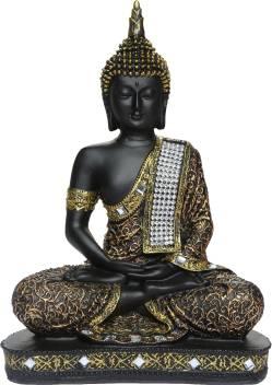 Heeran Art Vastu Fangshui Religious Idol Of Lord Gautama Buddha Statue Decorative Showpiece 24 Cm