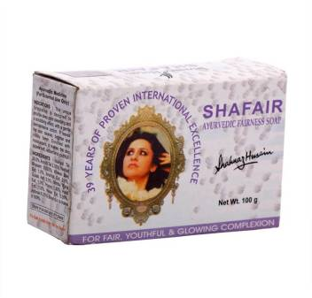 Shahnaz Husain Shafair Ayurvedic Fairness Soap  (100 g)