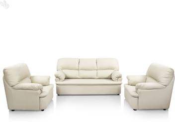 Comfort Couch Ivy Leatherette 3 + 1 + 1 White Sofa Set Price In India - Buy Comfort Couch Ivy Leatherette 3 + 1 + 1 White Sofa Set Online At Flipkart.com
