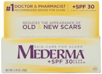 Mederma Cream Spf 30 Sunscreen 0 7 Oz Spf 30 Pa Price In