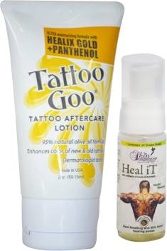 Tattoo Goo Healix Gold Panthenol Lotion 2oz Free Heal It Price In India Buy Tattoo Goo Healix Gold Panthenol Lotion 2oz Free Heal It Online In India #tattoogoo #tattoogooointment #tattooaftercare this is follow up vid quickly go over pros and cons of tattoo goo ointment. tattoo goo healix gold panthenol lotion 2oz free heal it