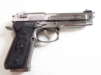 Glitters Pistol Shaped Jet-flame Gun Mauser Cigarette Lighter