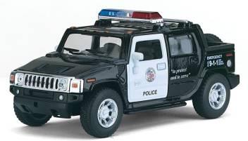 i-gadgets Kinsmart Hummer H2 Sut Police - Kinsmart Hummer H2 Sut