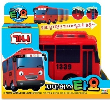 FRANK Fire truck Big Size Toy Bus Friction Car The Little Bus Tayo Talking