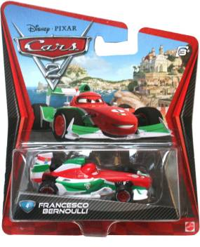 Pixar Cars Cars 2 Francesco Bernoulli Cars 2 Francesco Bernoulli Buy Franseco Bernoulli Toys In India Shop For Pixar Cars Products In India Toys For 3 7 Years Kids Flipkart Com