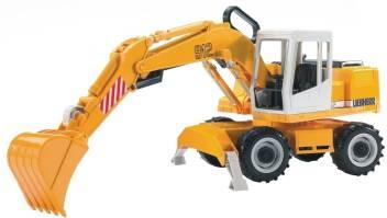 Bruder Liebherr Excavator - Liebherr Excavator   shop for