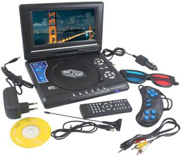 Portable 9 8 inch EVD/DVD Video Player With 3D 9 8 inch DVD Player