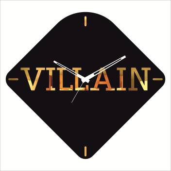 Rkason Matte Black Gold Mirror Villian Analog 37 Cm X 40 Cm Wall Clock Price In India Buy Rkason Matte Black Gold Mirror Villian Analog 37 Cm X 40