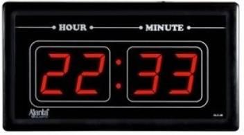 Ajanta Digital Wall Clock Price In India Buy Ajanta Digital Wall Clock Online At Flipkart Com