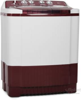 LG 7 2 kg Semi Automatic Top Load Washing Machine Red