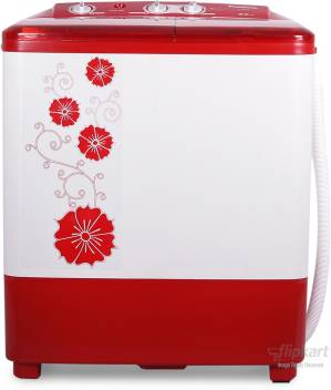 panasonic 6 5 kg semi automatic top load washing machine red (na-w65b2rrb)