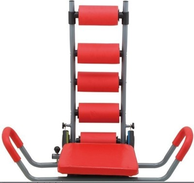 Evana abs-Care Twister Six Pack builder For Calf Raise Ab Exerciser(Red)