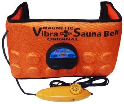 03321e1548c93 77% OFF on Rudraksh Enterprises Vibrating Magnetic Slimming Belt (Orange)  37 Slimming Belt