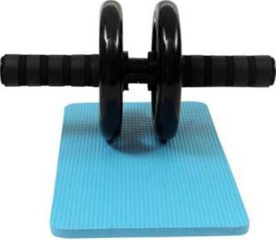 Sports Solutions DUAL PVC WHEEL QUICK Ab Exerciser Black Sports Solutions Ab Exercisers