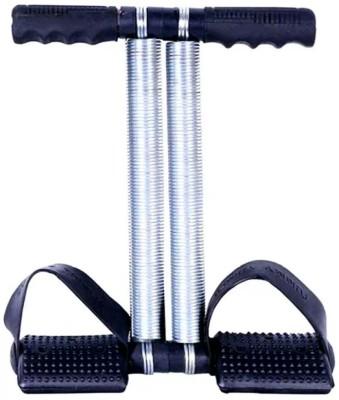 Kinsco Doublke Spring tummy trimmer Ab Exerciser(Blue, Silver)
