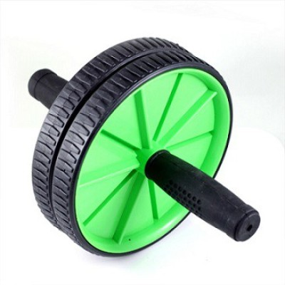 Instafit DOUBLE WHEEL ROLLER Ab Exerciser Green