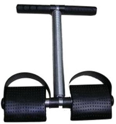 Deemark New Single Tummy Trimmer Ab Exerciser(Black, Silver)  available at flipkart for Rs.179